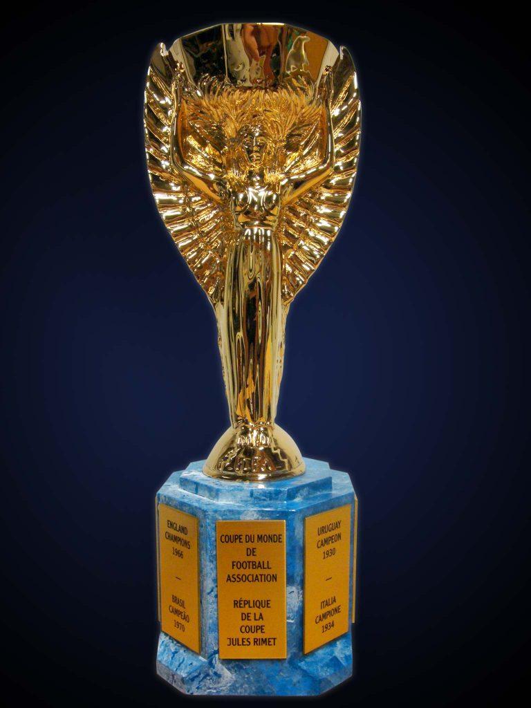 Sunseeker Exhibe En Londres El Trofeo Jules Rimet