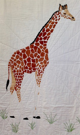 'Giraffe' an original design by Tanya Humphrey