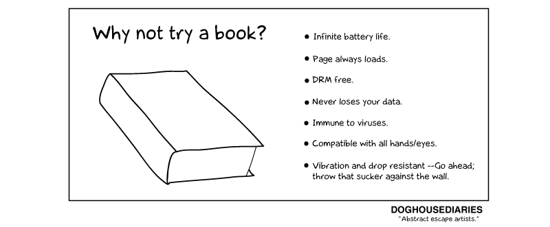 Why not try a Book?