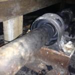 nbSteven broken Prop shaft