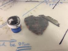 Spread solderpaste over everything