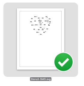 Resulting SVG