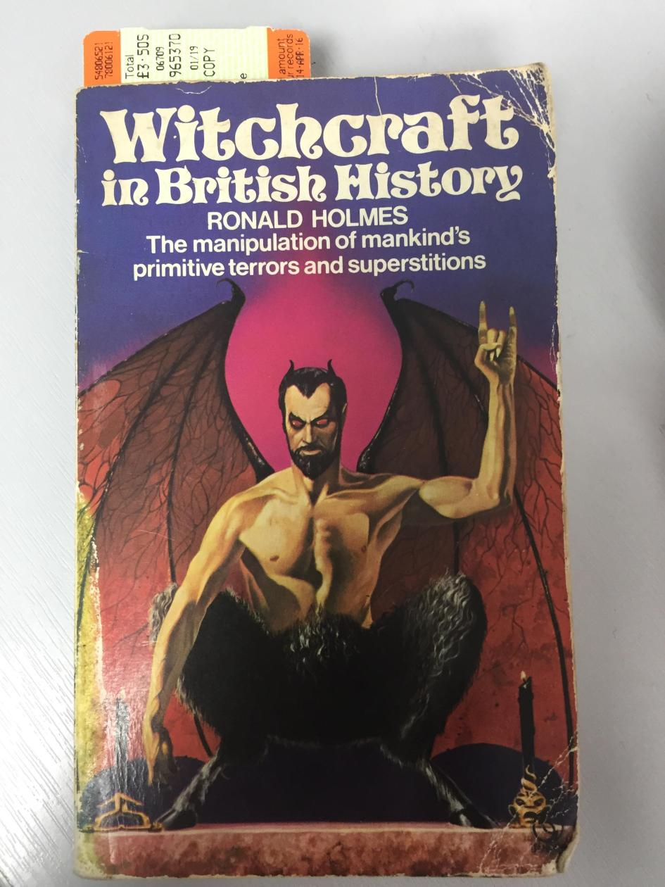 Ronald Holmes' Witchcraft in British History