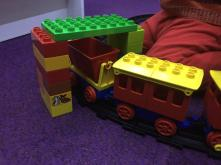 Old style rolling stock clearance 6 x 6 Duplo Blocks