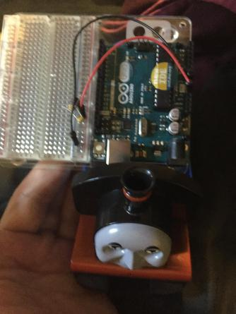 Oh look at how close in size an Arduino is to the Loco