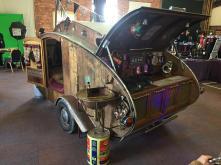 Steampunk caravan