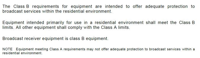 BS EN 55032:2015 Section 4