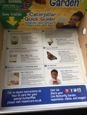 Instructions on inside of the box
