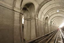 Brunels Tunnel on the East London Line