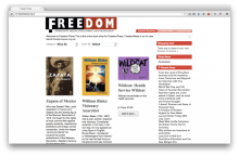 FreedomPress - An online store front for the Freedom Book Shop