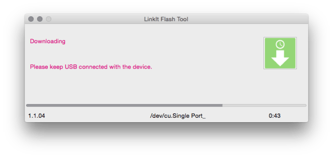 LinkIt flash tool