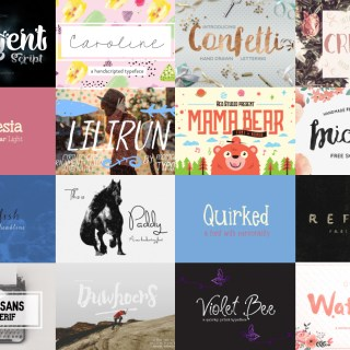 Amazing And Beautiful Fonts For Your Blog | Skip The Flip