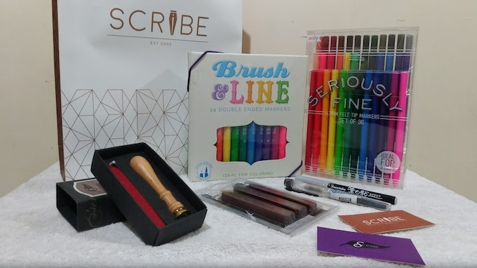 The Scribe Writing Essentials Exclusive Shopping Spree | Skip The Flip
