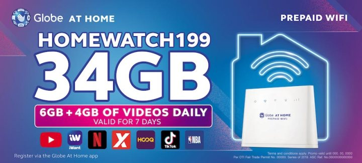 Globe At Home Prepaid WiFi Introduces New Data Promos With FREE 4GB YouTube Daily   Skip The Flip