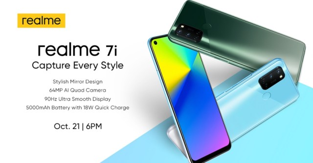 The lifestyle partner of the youth and Top 2 smartphone brand in the country, realme Philippines will complete its latest 7 Series with the realme 7i. | Skip The Flip