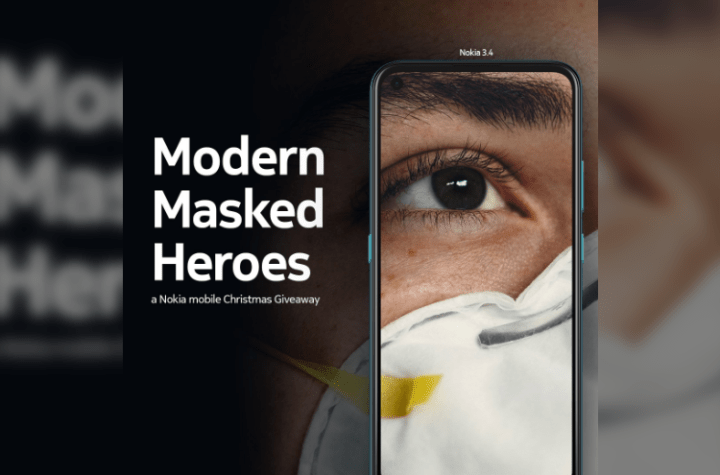 """Nokia mobile Philippines honors frontliners this Holiday Season with the """"Modern Masked Heroes"""" Christmas Giveaway 