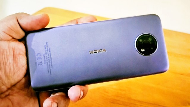 The Nokia G10 is powered by a MediaTek Helio G25 chipset with an Octa-core CPU and a PowerVR GE8320 GPU. The smartphone unit tested has 4GB RAM, and a 3GB RAM variant is also available. | Skip The Flip