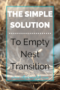 Make the empty nest transition easier by creating a personal retreat in your home.