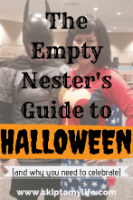 Your guide to Empty Nest Halloween, and why you need to celebrate.