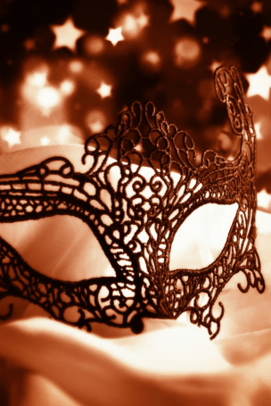 Masks can be symbolic or just for fun.