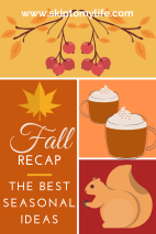 These fall favorites will help you celebrate the season and save money.