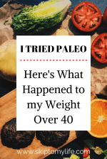 My weight loss over 40 journey. Does Paleo help?