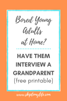 Print this list of 5 things your kids need to know about their grandparents. It may surprise you!