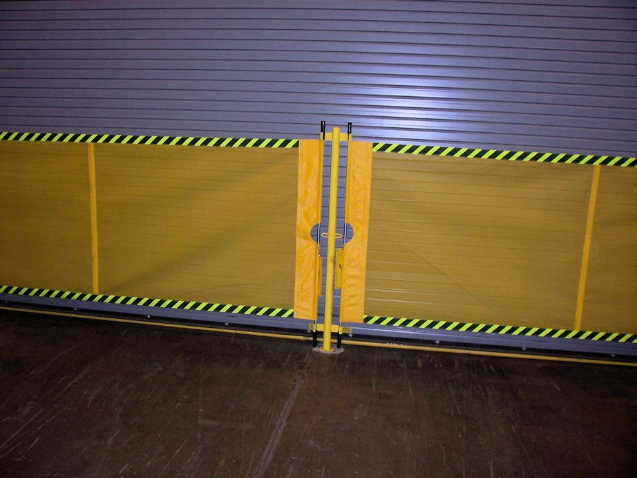 Industrial Retractable Barrier Akon Skirting And Bellows