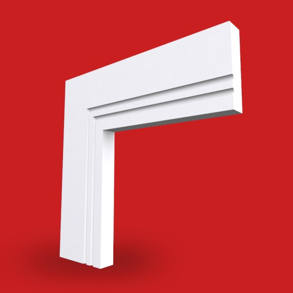 square 2 c grooved architrave image