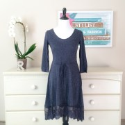 AD42265SS Skirtista Lace Trim Dress
