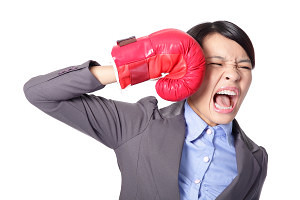 Image result for beat yourself stock photo
