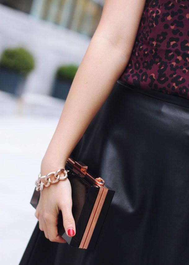 Derng Rosegold Chain Bracelet