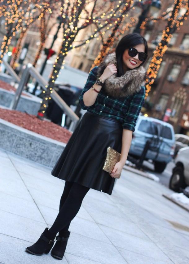 Plaid, Leather & Faux Fur