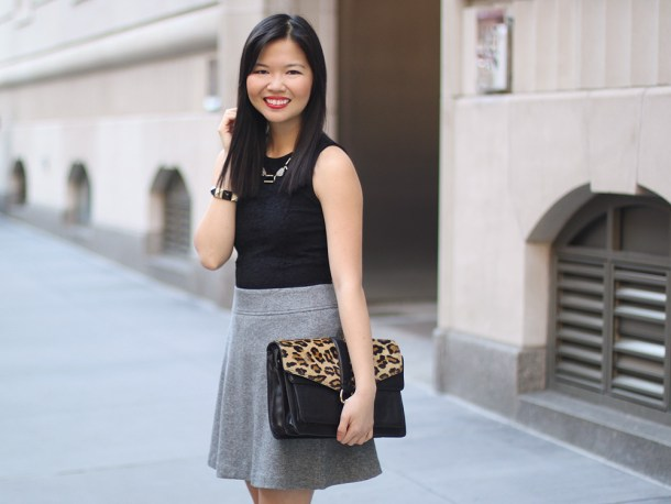 Black & Grey Work Outfit