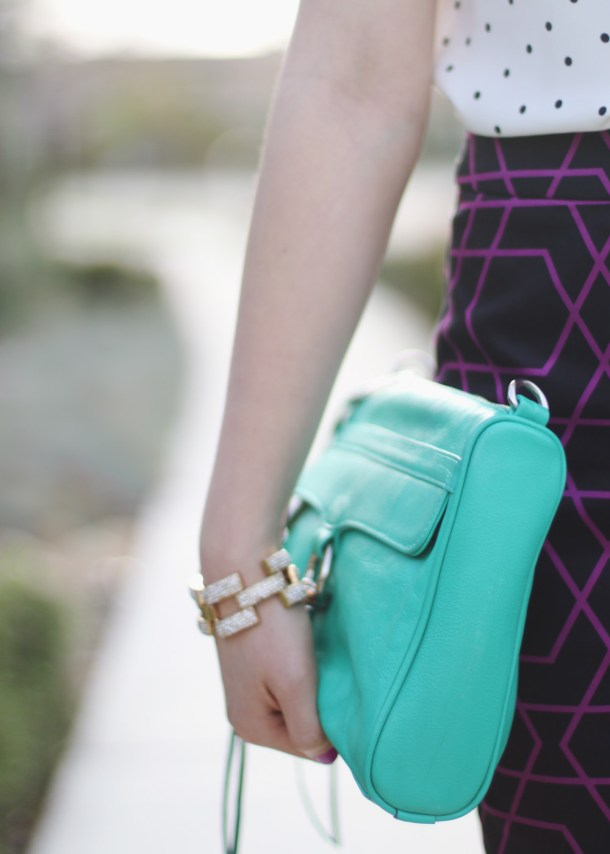 Rebecca Minkoff Turquoise MAC