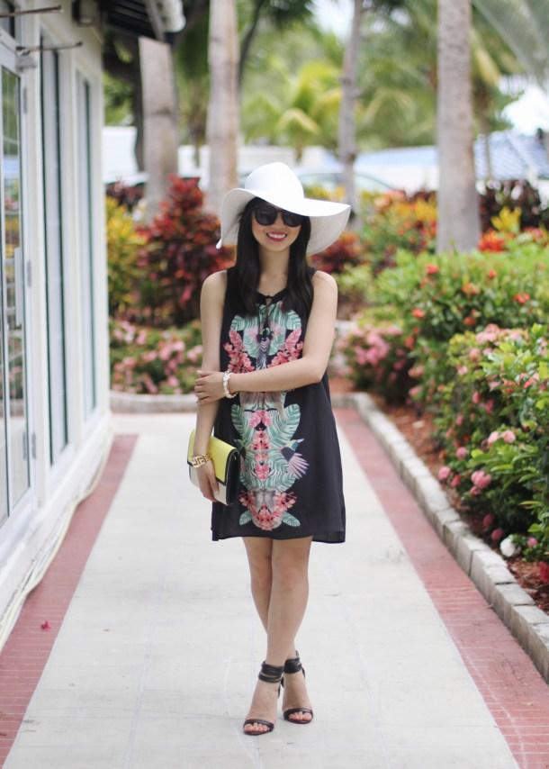 Gentle Fawn Mirror Print Dress