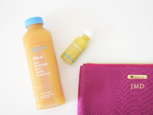 Healthy Immune Boosting Juice and Booster Shots