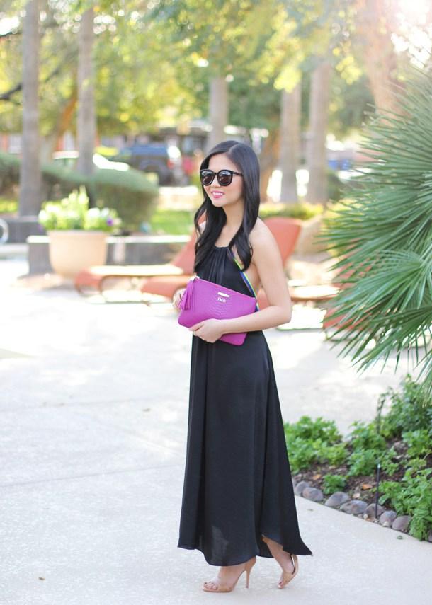 Skirt The Rules // Black Coverup Dress
