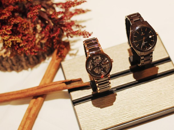 Skirt The Rules // Brown Ceramic Watches