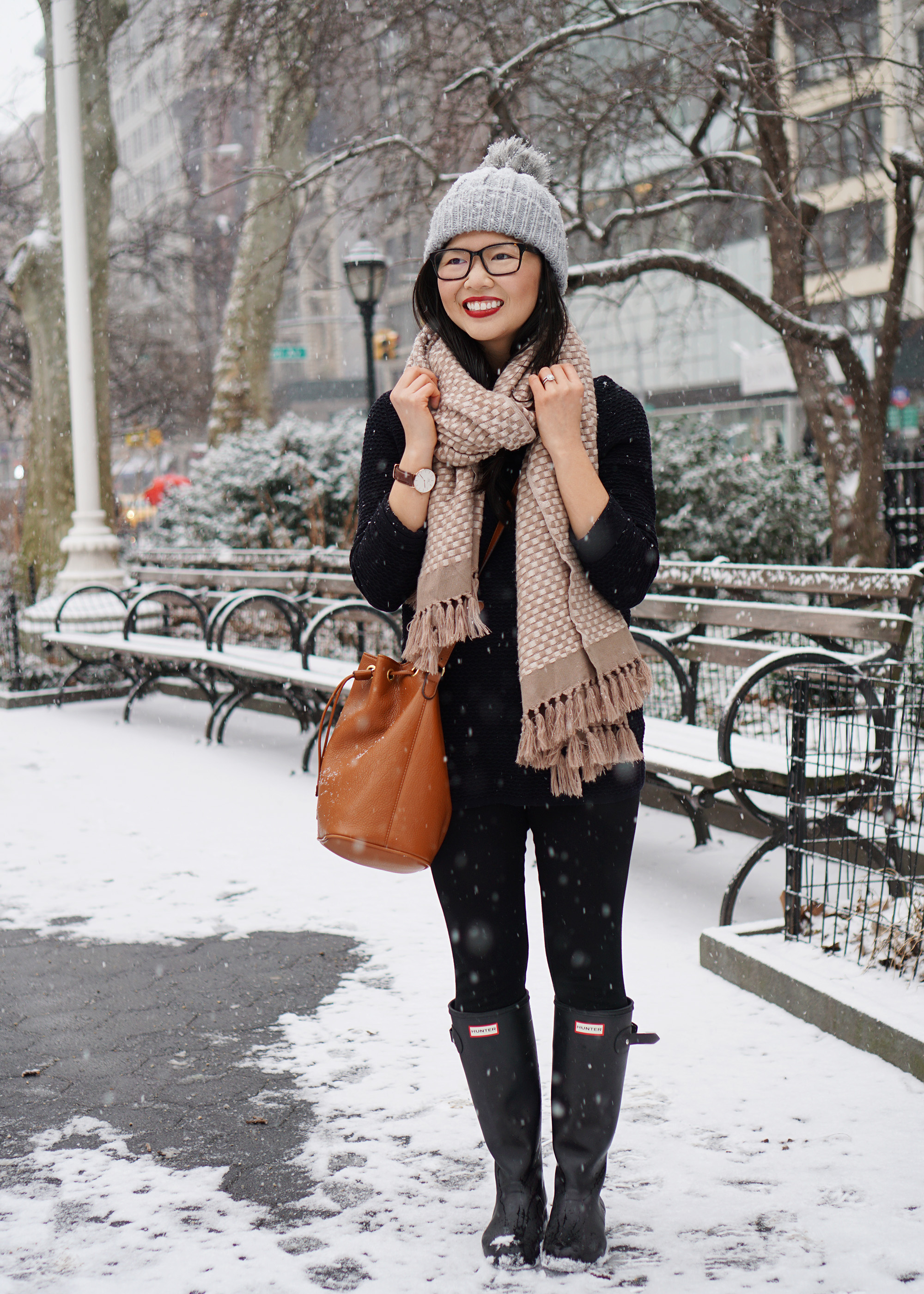 Casual Snow Day Outfit Skirt The Rules Life Amp Style In Nyc