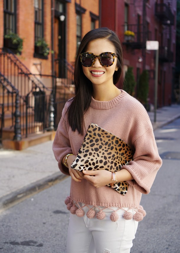 Skirt The Rules / Leopard Clutch