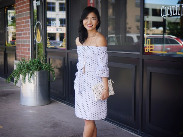 Skirt The Rules / Off the Shoulder Bell Sleeve Dress