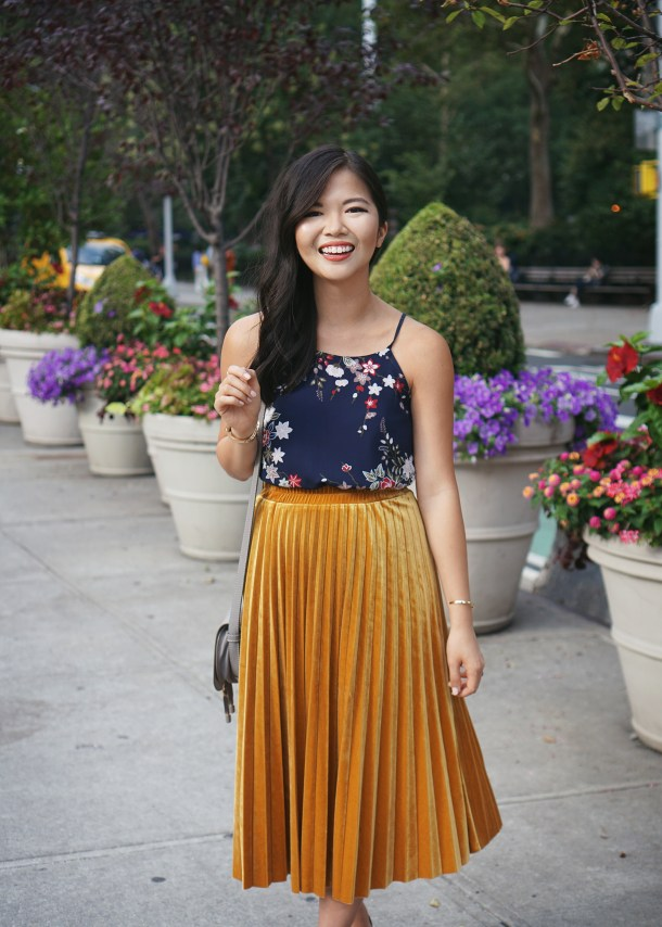 Petite Style: How to Wear a Skirt Over a Dress
