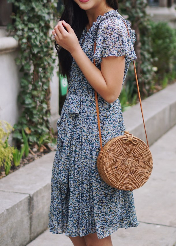 Spring Accessories / Straw Circle Bag