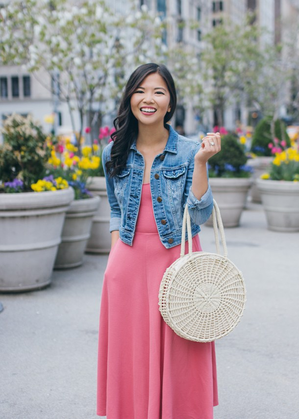 Summer 2018 Must Have Bag: Straw Circle Tote