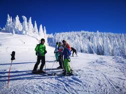 Ski lessons for adults in Poiana Brasov