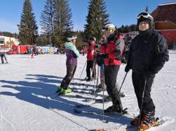 adult ski lessons with R&J ski school from poiana brasov