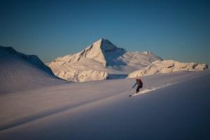 Backcountry Ski touring Mt Aspiring