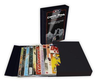 "BCW Supplies Stor-Folio 1.5"" Comic Book (Holds 15-20 Comics)"