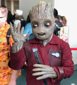 Baby Groot by @babygrootcosplay